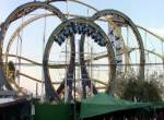 Triple Loop onride at La Feria Chapultepec Magico Mexiko