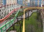 Steeplechase onride at Blackpool Pleasure Beach