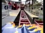 Rita queen of speed onride at Alton Towers