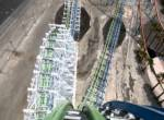 Twisted Colossus onride at Six Flags Magic Mountain