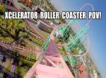 Xcelerator onride at Knotts Berry Farm