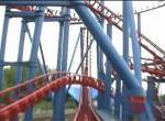 Superman onride at Six Flags Fiesta Texas
