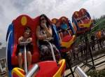 Krazy Koaster onride at Silverwood Theme Park