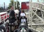 Steeplechase onride at Coney Island New York