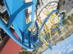 Goliath onride at Six Flags Fiesta Texas