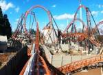 Copperhead Strike onride at Carowinds