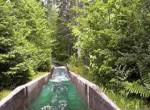 Log Flume onride at Santas Village Jefferson